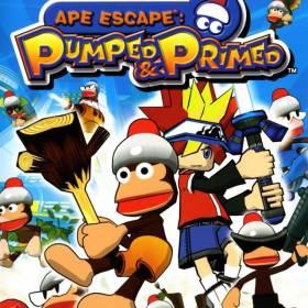 The coverart thumbnail of Ape Escape: Pumped & Primed