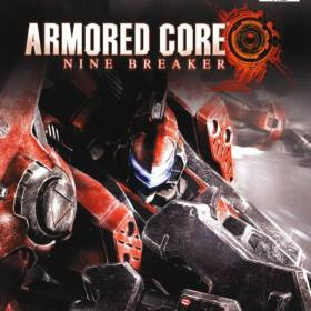The cover art of the game Armored Core: Nine Breaker.
