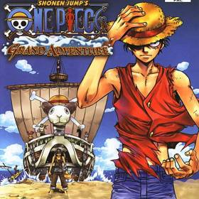 The cover art of the game One Piece: Grand Adventure.