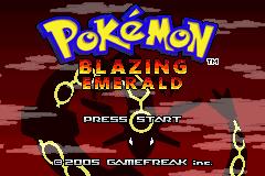Pokemon Blazing Emerald (Hack)