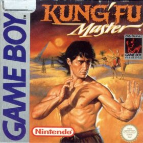 The cover art of the game Kung-Fu Master .