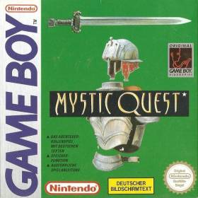 The cover art of the game Mystic Quest (France).