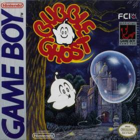 The cover art of the game Bubble Ghost .