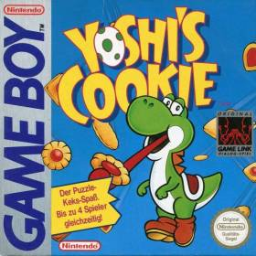 The cover art of the game Yoshi's Cookie .