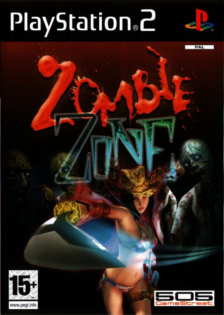 The coverart image of Zombie Zone
