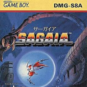 The cover art of the game Sagaia .