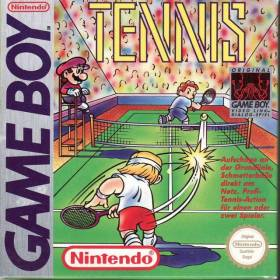 The cover art of the game Tennis.