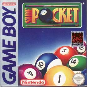 The cover art of the game Side Pocket .