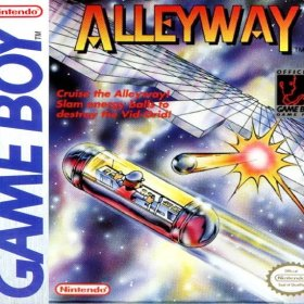The cover art of the game Alleyway.