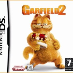 The cover art of the game Garfield 2.