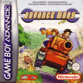 The cover art of the game Advance Wars.