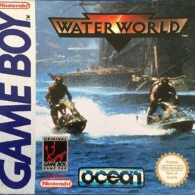 The cover art of the game Water World .