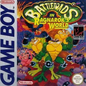 The cover art of the game Battletoads In Ragnarok's World.