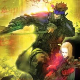 The cover art of the game Metal Gear Acid 2.