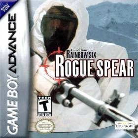 The cover art of the game Tom Clancy's Rainbow Six - Rogue Spear.