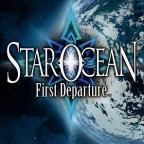 The cover art of the game Star Ocean: First Departure.