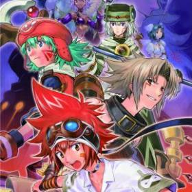 The cover art of the game .hack//LINK.