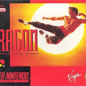The cover art of the game Dragon - The Bruce Lee Story.