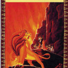The cover art of the game The Lion King.