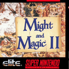 The cover art of the game Might and Magic II - Gates to Another World .