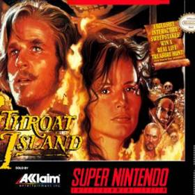 The cover art of the game CutThroat Island .