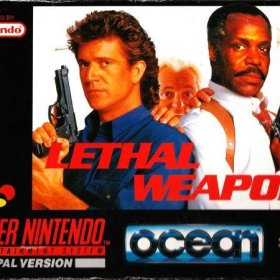 The cover art of the game Lethal Weapon .