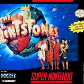 The cover art of the game The Flintstones.