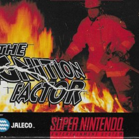 The cover art of the game The Ignition Factor.