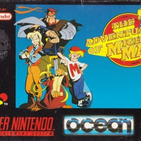 The cover art of the game Mighty Max .