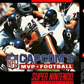 The coverart thumbnail of Capcom's MVP Football