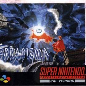 The cover art of the game Terranigma.