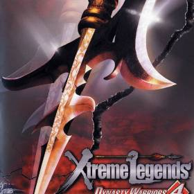 The cover art of the game Dynasty Warriors 4: Xtreme Legends.