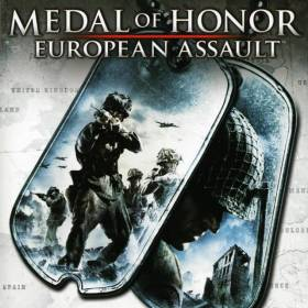 The cover art of the game Medal of Honor: European Assault.