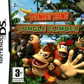 The cover art of the game Donkey Kong: Jungle Climber.