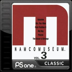 The coverart thumbnail of Namco Museum Vol. 3