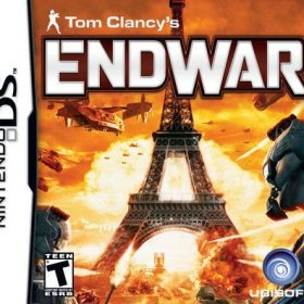 The cover art of the game Tom Clancy's End War .