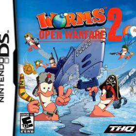 The coverart thumbnail of Worms: Open Warfare 2