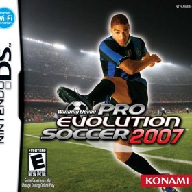The cover art of the game Winning Eleven Pro Evolution Soccer 2007.