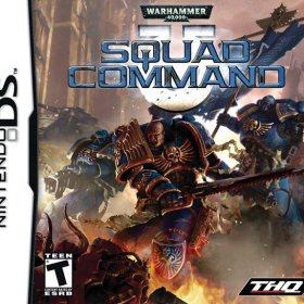 The cover art of the game Warhammer 40k: Squad Command.