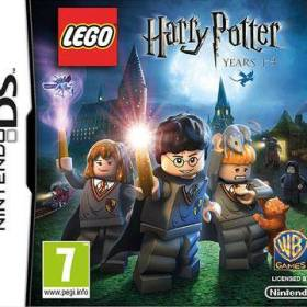 The cover art of the game LEGO Harry Potter: Years 1-4.