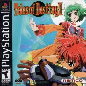 The cover art of the game Tales of Destiny II.