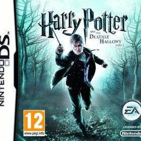 The cover art of the game Harry Potter and the Deathly Hallows, Part 1.