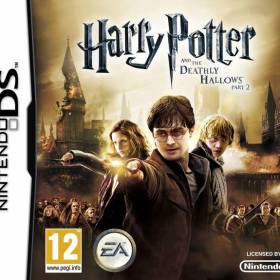 The cover art of the game Harry Potter and the Deathly Hallows, Part 2.