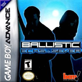 The cover art of the game Ballistic - Ecks vs. Sever .
