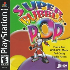 The cover art of the game Super Bubble Pop.
