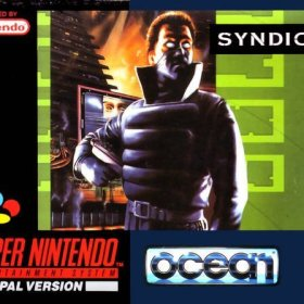 The cover art of the game Syndicate .