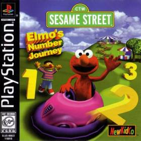 The cover art of the game Sesame Street: Elmo's Number Journey.