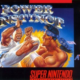 The cover art of the game Power Instinct.