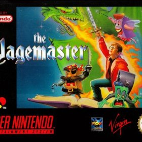 The cover art of the game The Pagemaster.