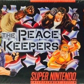 The cover art of the game The Peace Keepers.